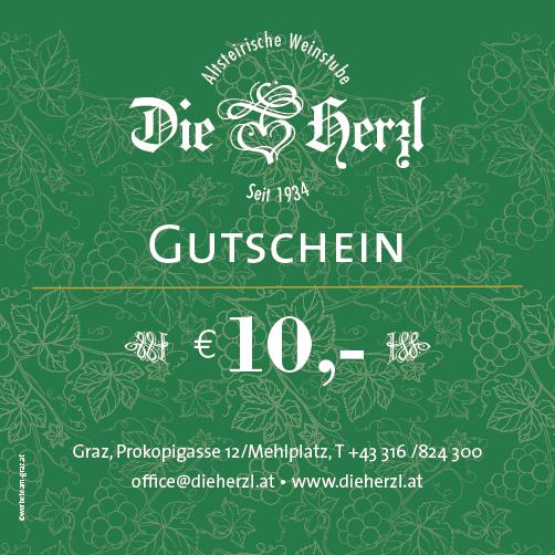 Kulinarik-Gutschein € 10