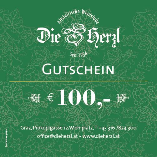 Kulinarik-Gutschein € 100